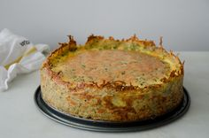 Gruyere and Pancetta Quiche with Hash-Brown Crust
