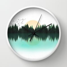 The Sounds of Nature Wall Clock