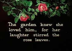 #garden #love #romance