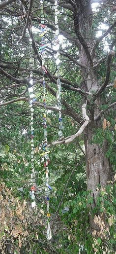 Hanging mirror strands | Flickr - Photo Sharing!