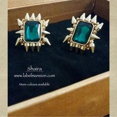 Oh so pretty 'Shaira' Shop our ‪#‎musthave‬ jewels at www.labelmansion.com ‪#‎labelmansion‬ ‪#‎jewellery‬ ‪#‎earrings‬ ‪#‎crystal‬ ‪#‎metal‬ ‪#‎statement‬ ‪#‎shoponline‬ ‪#‎india‬