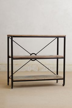 ... Utility Bookcase, Short - Anthropologie.com - #Anthropologie #PinToWin