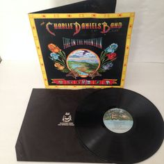 Charlie Daniels Band Fire On The Mountain Vintage Vinyl Record Album lp 1974 Kama Sutra Records Buddah Group KSBS 2603 Gatefold Cover by NostalgiaRocks