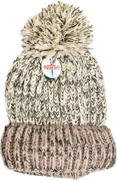 f715f98af17 Details about Women s Girl Cute   Soft Acrylic Knit Pom Winter Beanie Ski  Hat Cream Great Gift