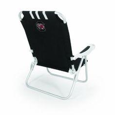 NCAA South Carolina Gamecocks Monaco Folding Beach Chair