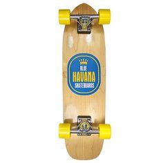 Havana Skateboards Peso Banana Cruiser Complete Skateboard - Cruiser - Completes - LongBoards - Rolling Wholesale