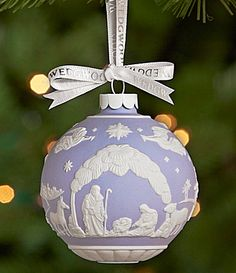 Wedgwood Nativity Scene Ornament #Dillards
