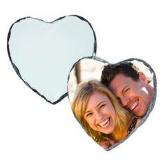 Heart Photo Slate Photo Transfer, Photo Heart, Small Heart, Slate, Keepsakes, Pictures, Photos, Awards, Surface