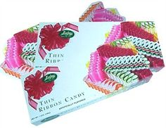 Thin Ribbon Candy is a holiday favorite, and now you can buy a 7oz box of delicate ribbon candy for only $3.49!