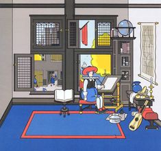 Chris Ware's take on the development of humankind.