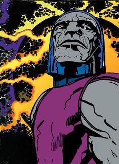 Darkseid by Jack Kirby