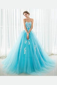 Cheap quinceanera dresses, Buy Quality quinceanera dress stock directly from China dresses quinceanera dresses Suppliers: Strapless Cheap In Stock Light Blue Tulle Prom Ball Gowns White Appliques Quinceanera Dresses Beading Wedding Party Dresses Light Blue Quinceanera Dresses, Puffy Prom Dresses, Backless Prom Dresses, Dress Prom, Grad Dresses, Pageant Dresses, 15 Dresses, Blue Ball Gowns, Ball Gowns Prom