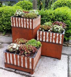 Pflanzkasten von Margit Hohenberger - Gartenkeramik