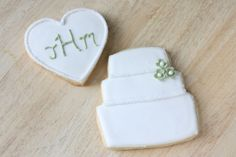 That Winsome Girl: Wedding Cookies