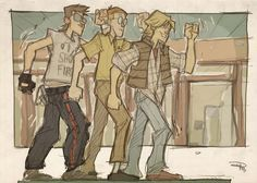 Breakfast Club - Han, Threepio, and Luke