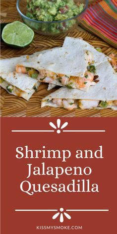 How to Make the best Shrimp and Jalapeno Quesadilla recipe on the grill. This easy dinner recipe is loaded with shrimp and cheese. #shrimp #jalapeno #quesadilla #appetizer #dinner #lunch #party #grill Appetizer Dinner, Appetizers, I Grill, Grilling, Grill Stone, Quesadilla Recipes, Grilled Shrimp, Stuffed Jalapeno Peppers, Outdoor Cooking