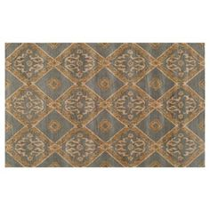 Check out this item at One Kings Lane! Atticus Rug, Blue/Beige