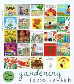 gardening books! G is for Gardening with Kids - Wildflower Ramblings