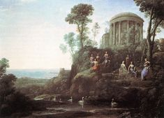 Apollo and the Muses on Mount Helicon Artist: Claude Lorrain Completion Date: 1680 Style: Classicism Genre: mythological painting Technique: oil Material: canvas Dimensions: 136.5 x 99.7 cm Gallery: Museum of Fine Arts, Boston, MA, USA