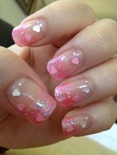 Valentine's day nail art | Valentines day nail art inspriation 20 - The Model Stage Blog