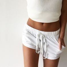 GIRLS STYLE #fashion  #color  white,  #short