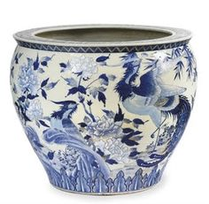 british colonial blue and white - Google Search