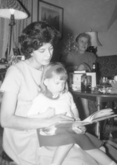 Mom read to me all the time before it was the thing to do, I could read before I was five and it is a gift I still enjoy tody.