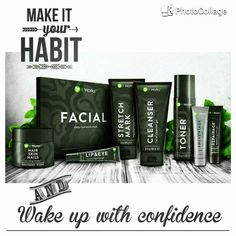 We have a full skin care line 651-703-5428