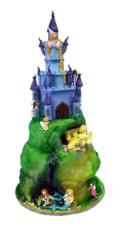 fairy-tale cake ~ I would love to have this for our upcoming Fairy Tale unit in my classroom!!