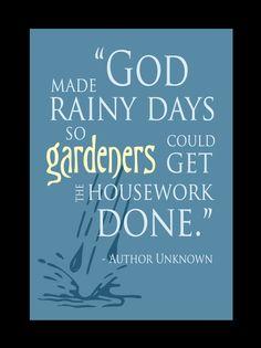 Please let it rain ~ our house needs it!