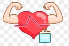 Gym Logo, Arm Muscles, Hd Picture, Clipart Images, Gray Background, Heartbeat, Cartoon Styles, No Equipment Workout, Prints For Sale
