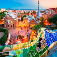 Enjoy the delights of Spain's extroverted Barcelona - home to colourful Park Guell. For more UK & Europe travel inspiration, visit www.hot.co.nz
