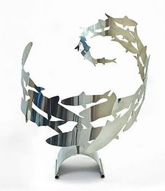 Shoaling Fish Sculpture