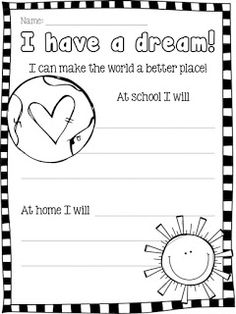 Five Fun Faves in Honor of Martin Luther King Jr. Day!   PLUS a FREEBIE!