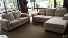 2 Seater Sofa + 3 Seater Chaise | Trade Me