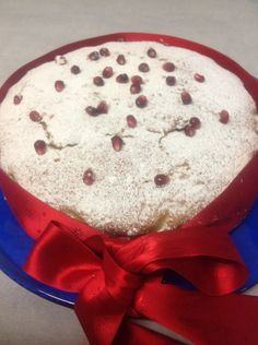 Vassilopita Greek New Year's Cake