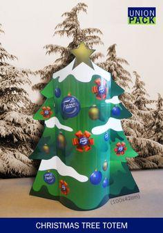 Christmas Tree Totem