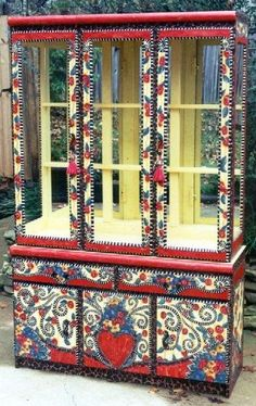 Funky Hand Painted Furniture Furniture and home items