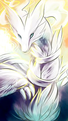 Reshiram by Kel-Del on deviantART