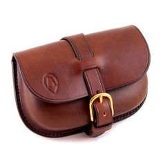 Ray Mears Leather Belt Pouch, Leather and Canvas Accessories
