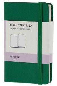 Moleskine Portfolio Oxide Green Hard Cover Extra Small (Moleskine Classic): Moleskine: 9788866137146: Amazon.com: Books
