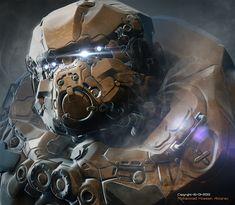 Robot by Mohammad Hossein Aattaran