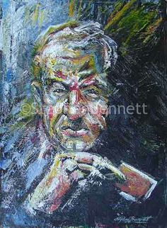 Painting of a card player by Irish artist Stephen Bennett. Acrylic on board. Please see Data Sheet below for the dimensions of the painting Irish Landscape, Irish Art, Irish Traditions, Figure Painting, Original Paintings, Art Gallery, The Originals, Board, Artworks