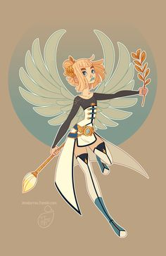 Character Design - Virgo A print of this picture is available on my online shop. :)