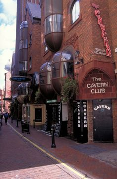 In 1957 the Cavern Club in Liverpool opened! Over the years, many young bands have performed there, including the Beatles.
