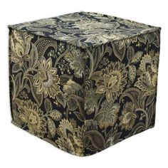 The Brite Ideas Living Valdosta Ottoman brings classic elegance with a modern look to your home. With a lovely pattern in your choice of available color,.