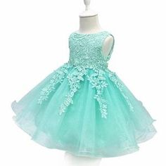LZH Baby Girls Birthday Christening Dress Baptism Wedding Party Flower Dress with Bowknot for Newborn Infant Lace Party Dresses, Girls Party Dress, Birthday Dresses, Flower Dresses, Baby Dress, Girls Dresses, Prom Gowns, Dress Lace, Dress Girl