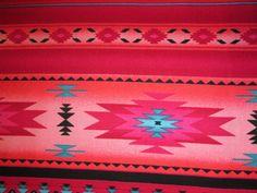 Rosa Navajo Indianer traditionsreiche Grenze Baumwolle von scizzors