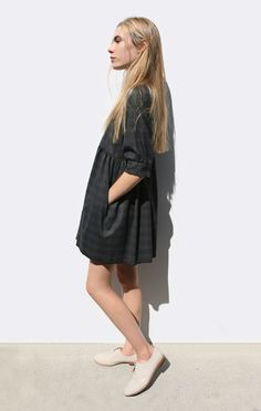Anaïse | Hache Wool Dress