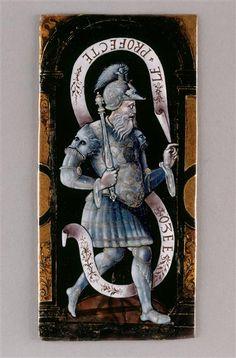The prophet Hosea, Leonard Limosin (around 1505-1575) Ecouen National Renaissance Museum